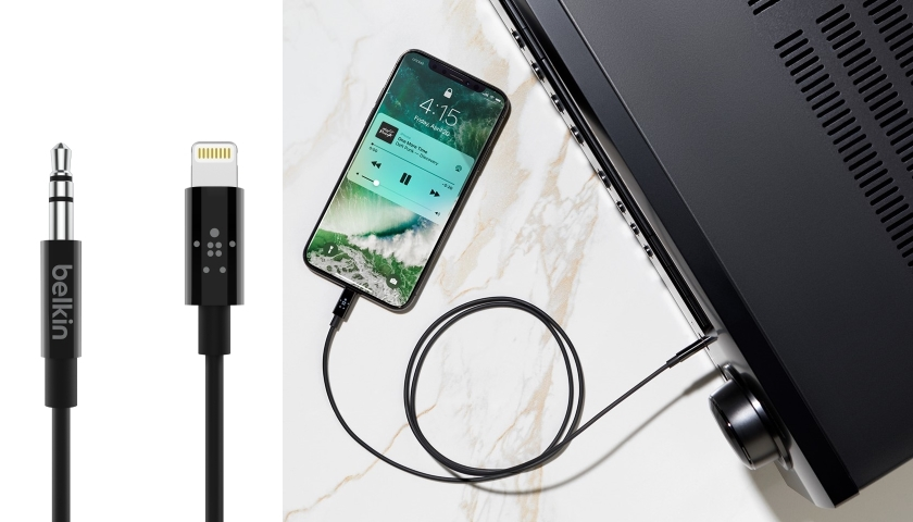 3.5 mm Audio Cable With Lightning Connector