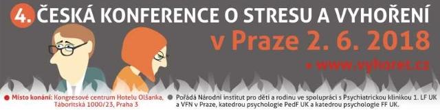 4. Česká konference o stresu a vyhoření