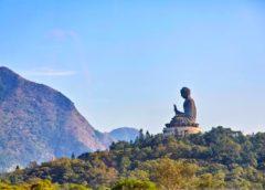 Budha socha Asie