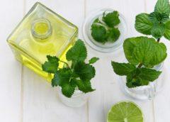 máta aromaterapie
