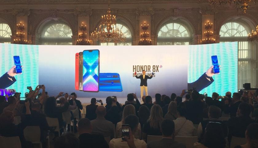 Honor 8X slavnostní představení