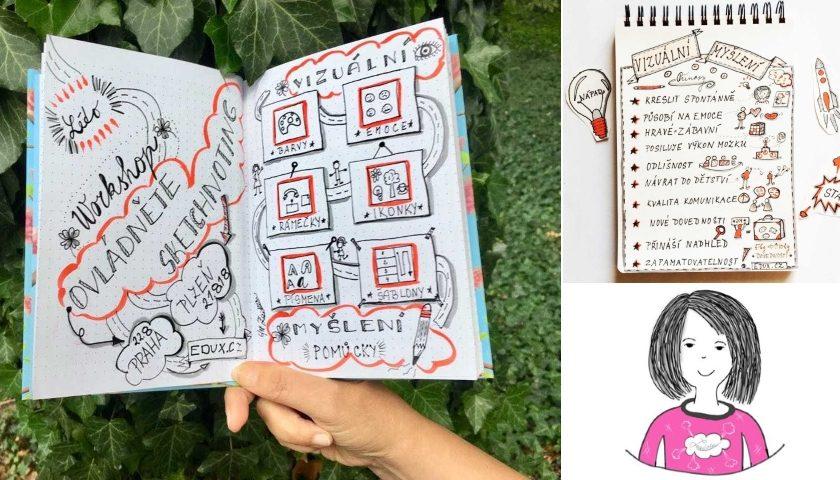 Sketchnoting Zdenka Tomaidesová
