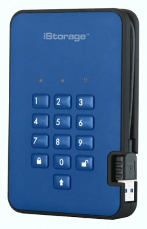 DiskAshur2 modrá varianta