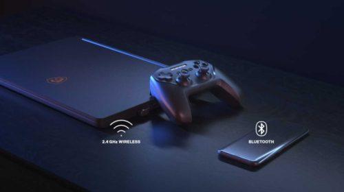 Gamepad s duální bezdrátovou technologií