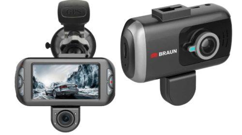 Dostupné kamery do auta Braun