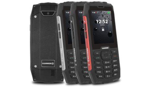 Tlačítkový telefon pro tvrdé podmínky