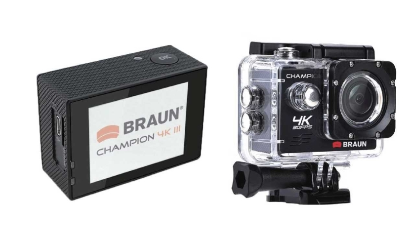 4k kamera braun