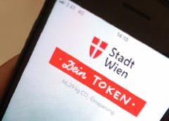 Aplikace na sbírání tokenů © Stadt Wien