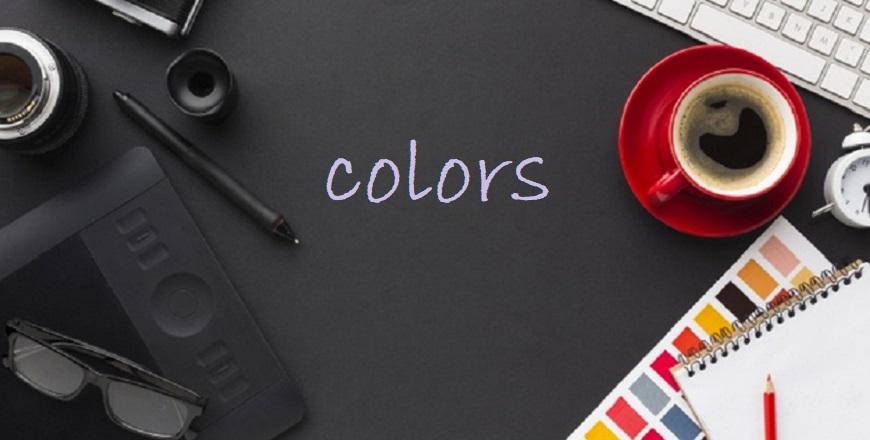Barvy kancelář