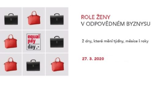 Equal Pay Day 2020 bude online a zdarma