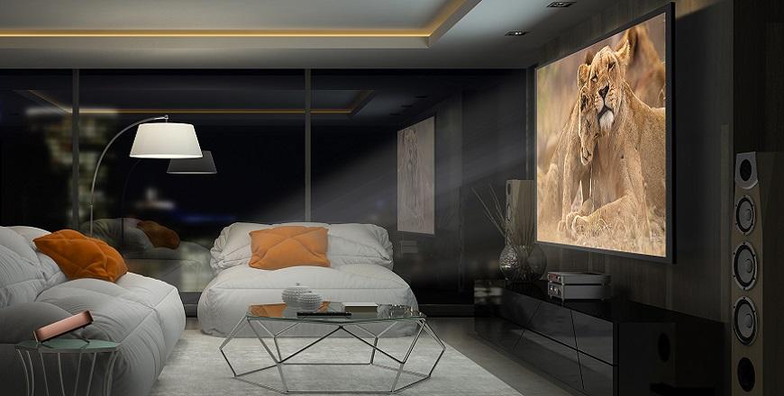Projektor Living Room