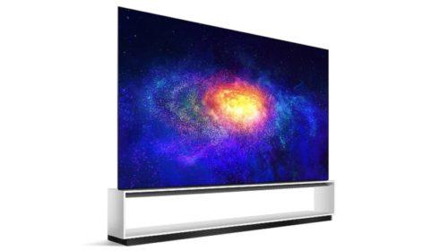 8K OLED TV pro gamery
