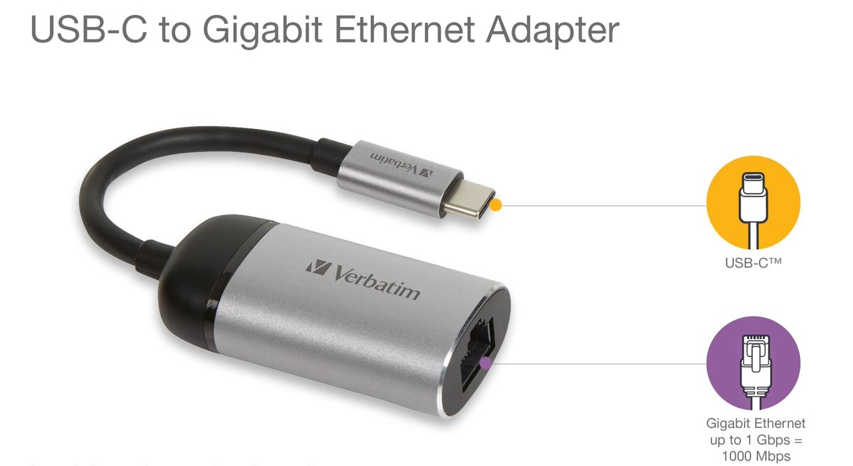 USB‑C to ethernet