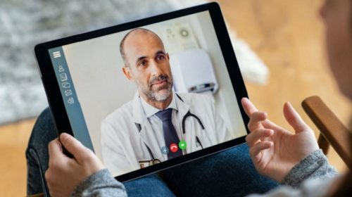 Terapie online ilustrační