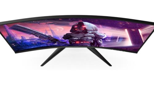 """Zakřivené herní monitory s uhlopříčkou 31,5"""""""