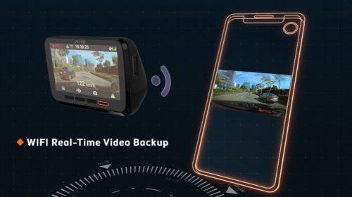 Autokamera s nočním viděním a režimem parkování