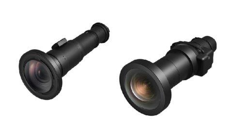 Objektivy pro LCD laserové projektory